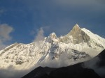 Annapurna as seen by Claire Porter 2013
