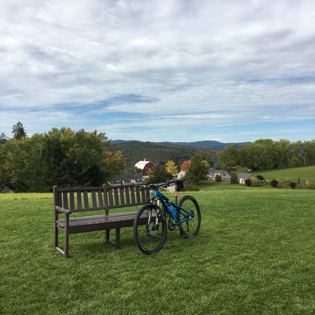 October in the Northeast Kingdom, Vermont. Ride On!