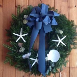 Seasonal reminder of Maine moments and memories by Pam's Wreaths, Harpswell, Maine