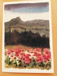Camel's Hump Poster