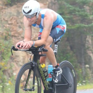 John Spinney at 2015 Ironman Mont Tremblant Ironman Hawaii Qualifier